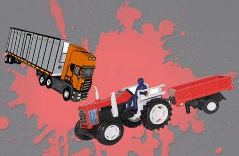 मुजफ्फरनगर: भीषण सड़क हादसे में दो किसानों की दर्दनाक मौत
