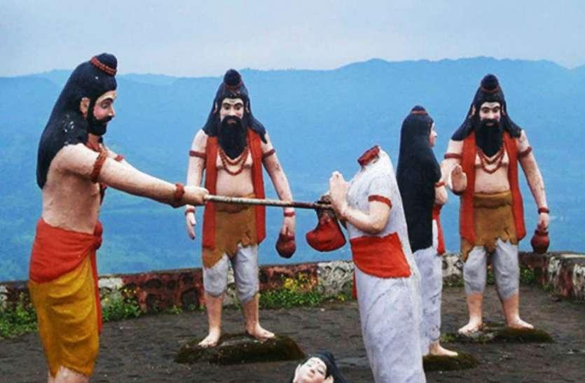 भगवान परशुराम ने अपनी मां और भाइयों का काट दिया था सिर, जानिए क्यों