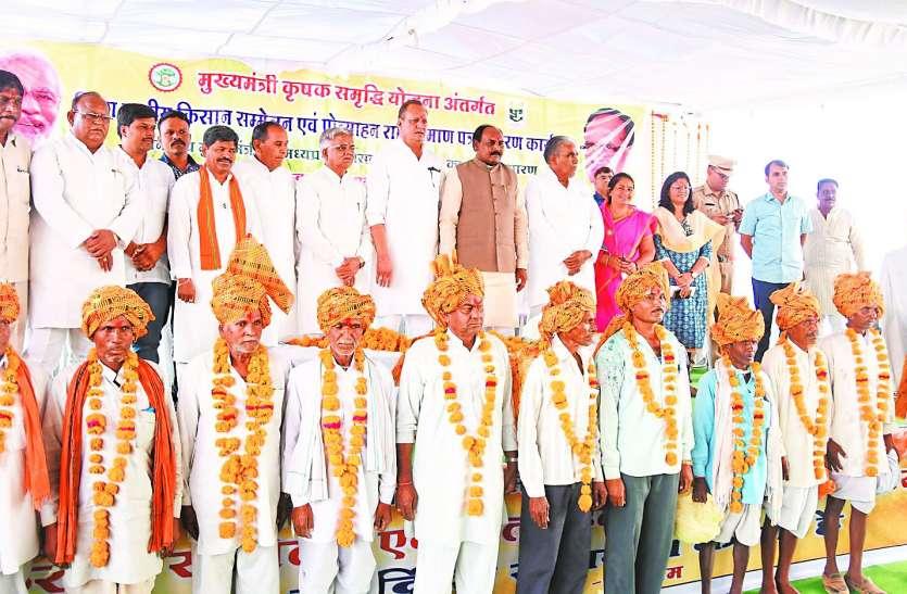 किसानों को सम्मान और ताकत मिलने से उनके चेहरे पर चमक आई है
