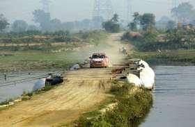 यहां देखिए आगरा ताज कार रैली की सुंदर तस्वीरें