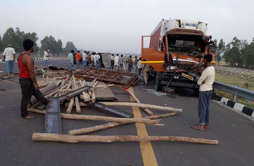 BIG BREAKING : दर्दनाक सड़क हादसे में तीन की मौत, दर्जनों घायल, देखें वीडियो