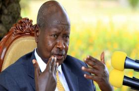 युगांडा के राष्ट्रपति का बयान, बोले- खाने को बना है मुंह, गंदे काम के लिए नहीं