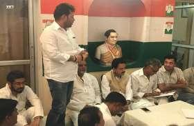 भाजपा सरकार से हर वर्ग का व्यक्ति दुखी, जनता से किया एक भी वादा नही हुआ परा-प्रशांत बैरवा