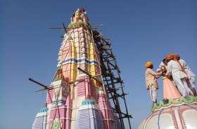 हनुमान मंदिर में मूर्ति की हुई प्राण-प्रतिष्ठा प्रभात फेरी व महाप्रसादी आज