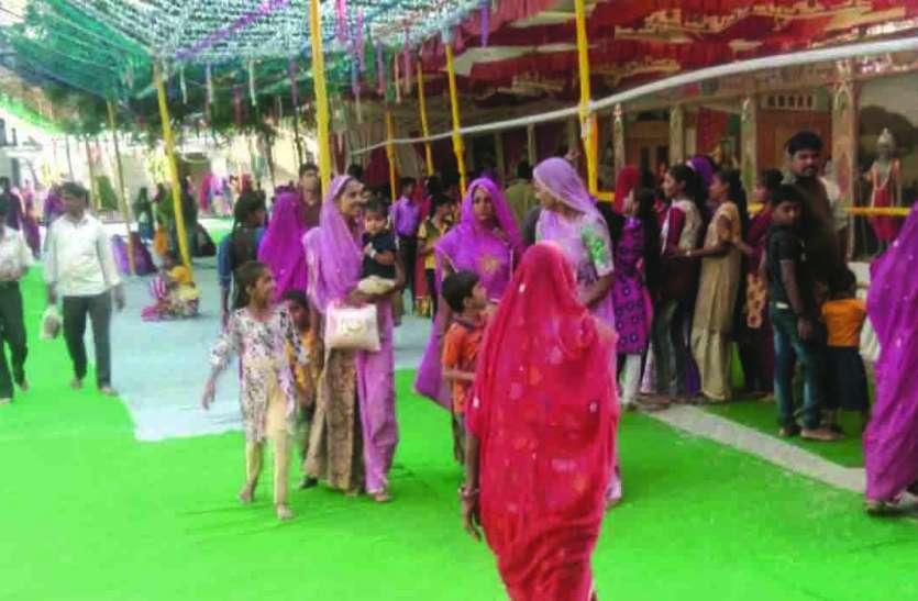 JAG MAHOTSAV : क्षेत्रपाल भैरूजी मंदिर जग महोत्सव 28 को : शिशोदा गांव में लाइट डेकोरेशन से की सजावट