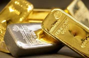 रुपए के मजबूत होते ही लुढ़क गए सोना-चांदी, इतनी घट गई कीमत