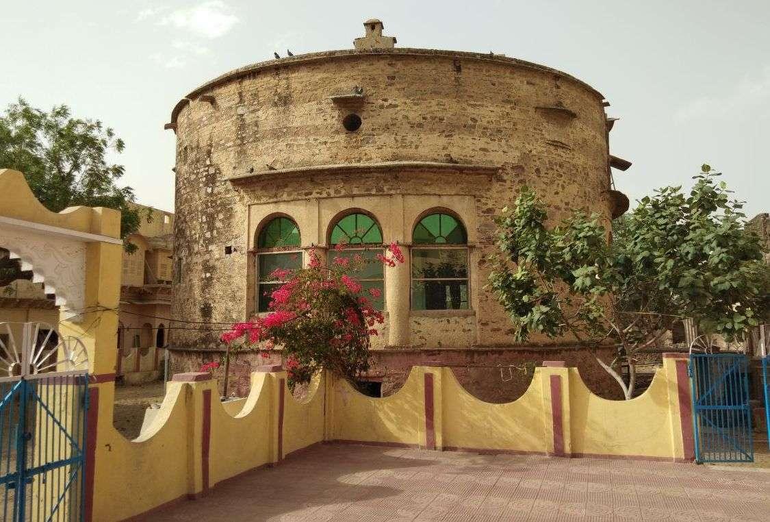 Identification of Historical Garhidamasinh Fort