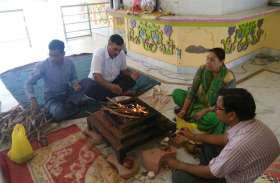 अलवर में आसाराम की रिहाई के लिए भक्तों ने किया यज्ञ व जाप, देखें तस्वीरे
