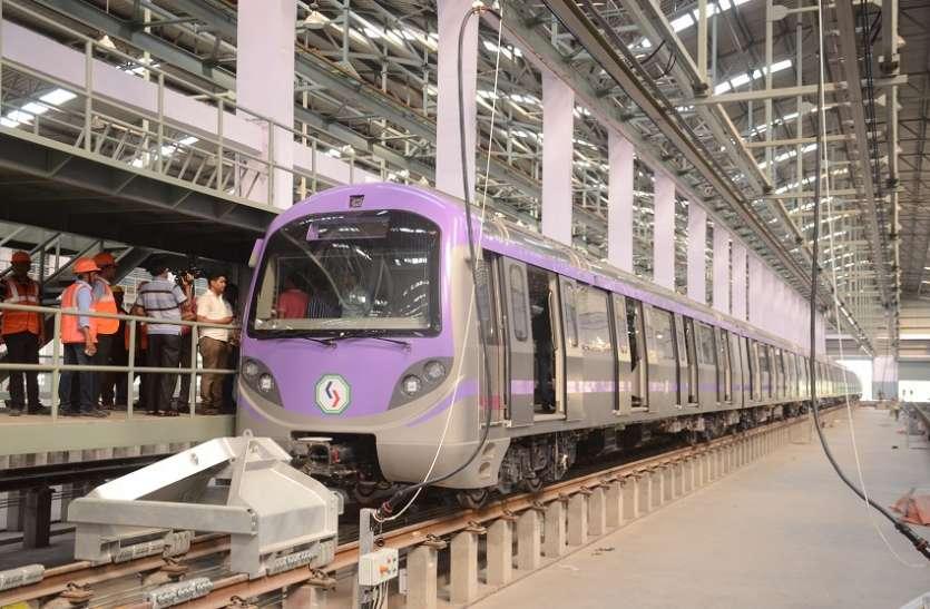 अत्याधुनिक सुविधाओं से लैस मेट्रो के नए रैक का फस्र्ट लुक जारी