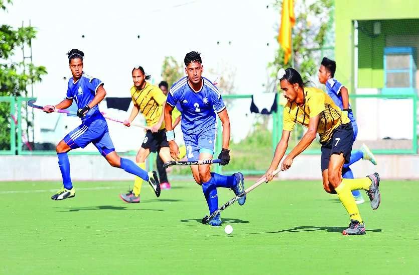 राष्ट्रीय हॉकी प्रतियोगिता : कर्नाटक, बंगाल आन्ध्रा, पीएनबी और बिहार क्वार्टरफाइनल में