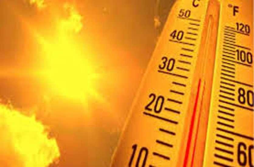 आसमान से बरसे शोले, फलोदी में पारा 44.5 डिग्री