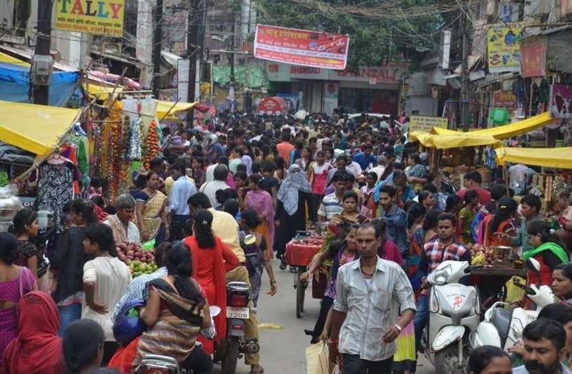 अब यहां के बाजार होंगे रंगीन, कपड़ा मार्केट परपल तो सराफा बाजार होगा मेहंदी कलर का