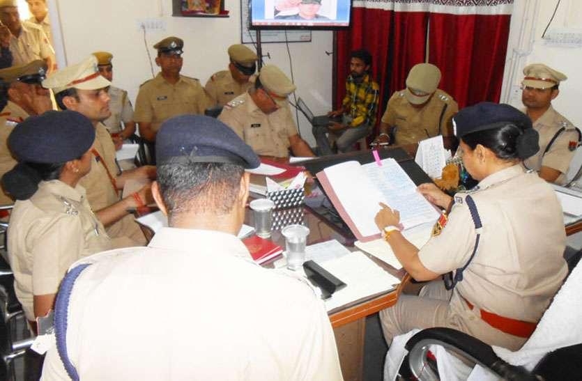 आईजी मालिनी अग्रवाल ने साइबर क्राइम पर नियंत्रण के लिए पुलिस को डिजिटल क्षेत्र में कार्य करने की कही बात