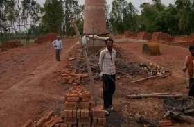 संदिग्ध बंग्लादेशी पकड़े जाने के बाद ईंट-भट्टे हुए खाली, नहीं मिल रहे मजदूर