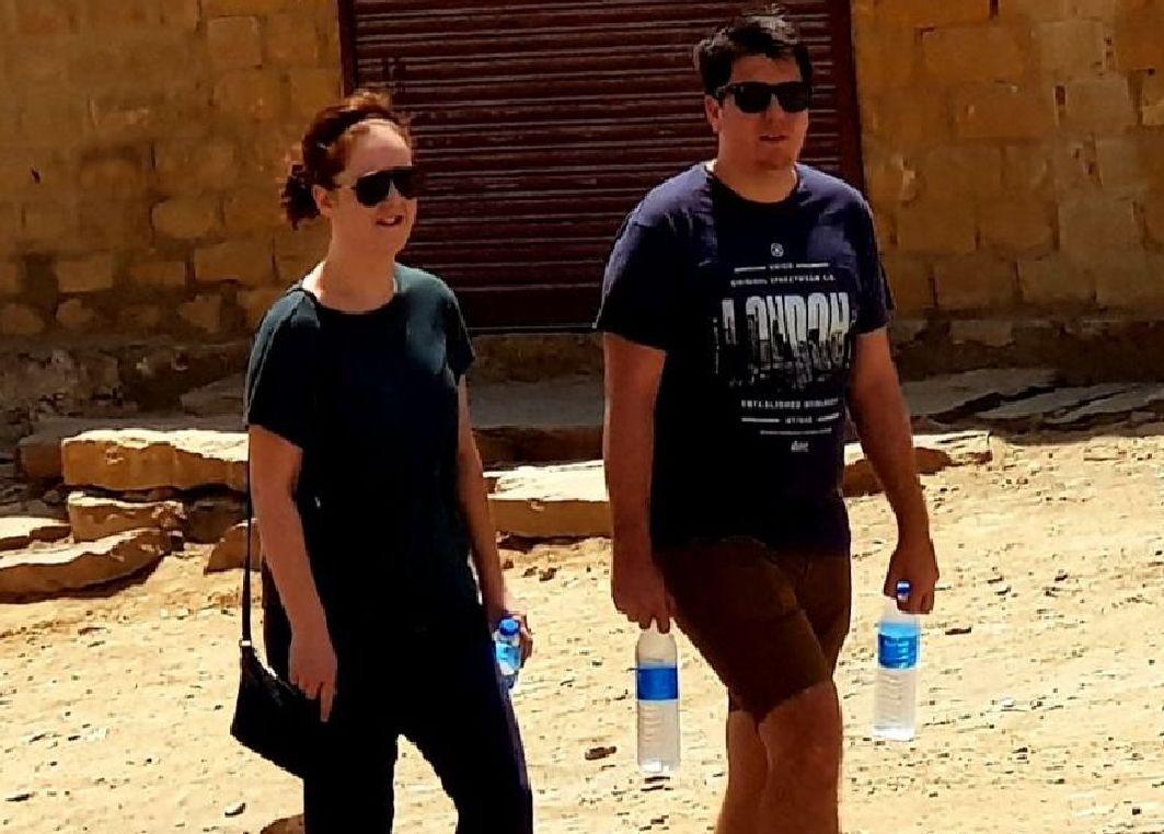 JAISALMER NEWS- जैसलमेर में आग उगलती गर्मी से हर कोई  परेशान, इतना हाई हुआ तापमान