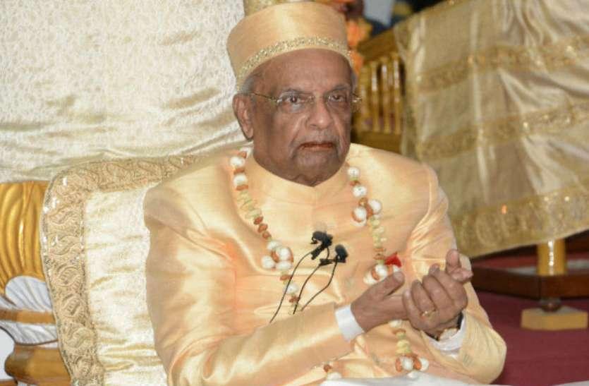 राधास्वामी मत के गुरु दादाजी महाराज ने अयोध्या में राम मंदिर के सवाल पर क्या कहा, देखें वीडियो
