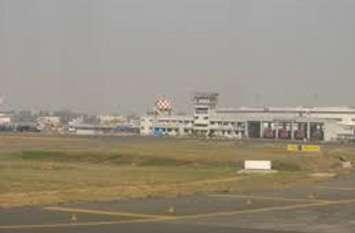 एयरपोर्ट: रनवे के पास लगी आग