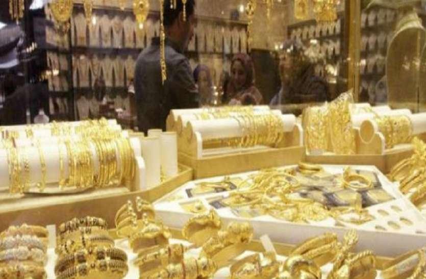 रुपए के टूटने से चढ़ा सोना, सवा दो महीने के उच्चतम स्तर पर पहुंची कीमत