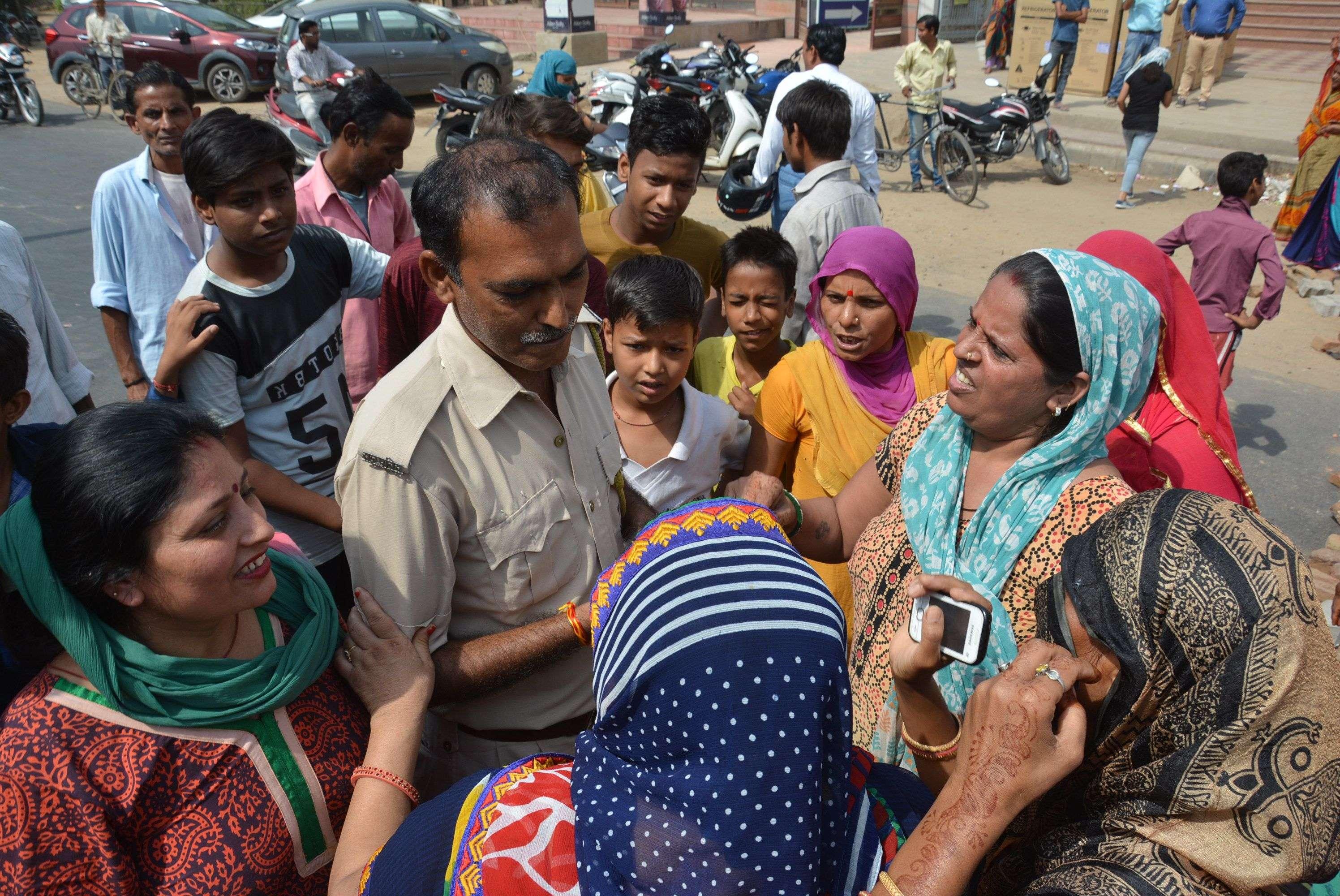 Women exposure for water problem in alwar