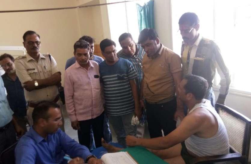 प्रतापगढ़ के बदमाश ने जावरा में दिनदहाड़े दागी गोलियां