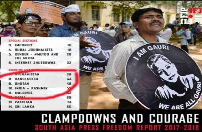 अब यूनेस्को ने आईएफजे की रिपोर्ट में कश्मीर को भारत से अलग दिखाया, विरोध दर्ज