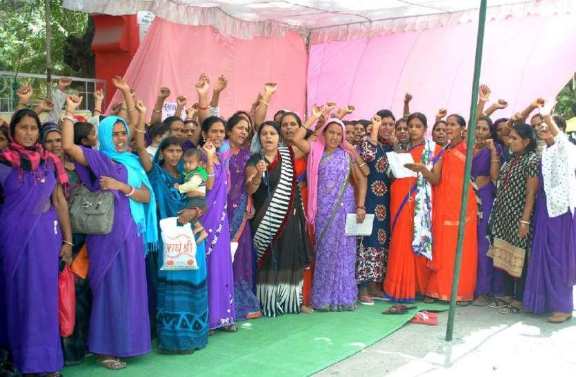 Asha worker gets minimum salary of 18 thousand rupees - Sehore News