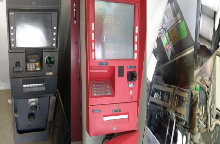 यूपी के इस जिले में एक ही रात तीन एटीएम को चोरों ने बनाया निशाना, बैंक को इतने लाख का नुकसान