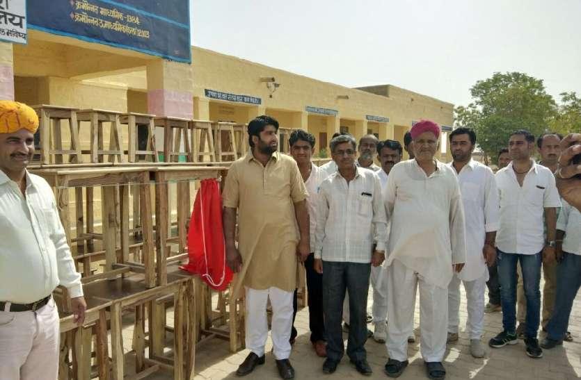 JAISALMER NEWS- प्रधान ने गांवों में  पहुंच किया ऐसा काम कि गांव वाले हो गये...