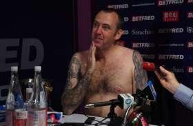 इग्लैंड के इस खिलाड़ी ने न्यूड होकर किया प्रेस कांफ्रेंस, तस्वीरें हुई वायरल, जानें क्या थी वजह