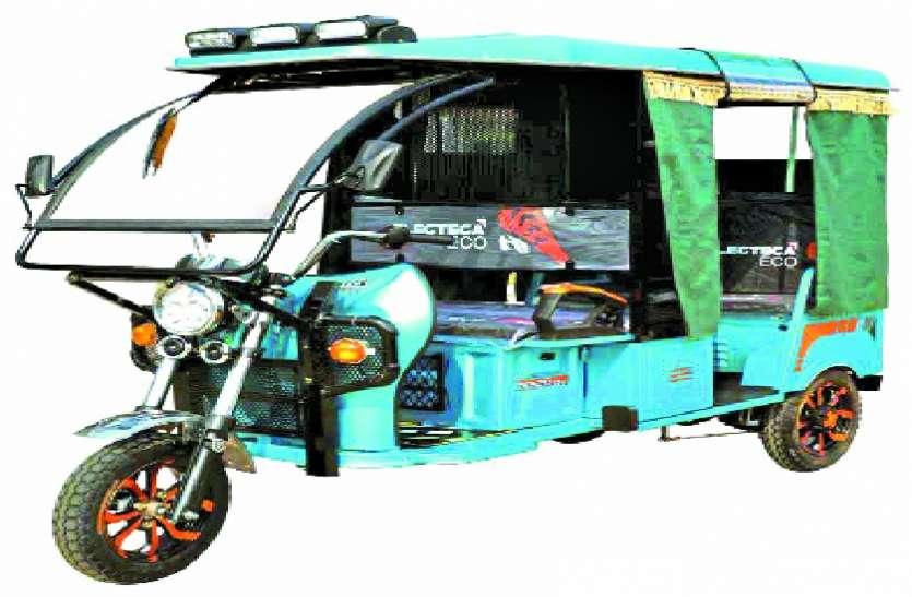 पर्यावरण के लिए इ-रिक्शा परमिट में छूट