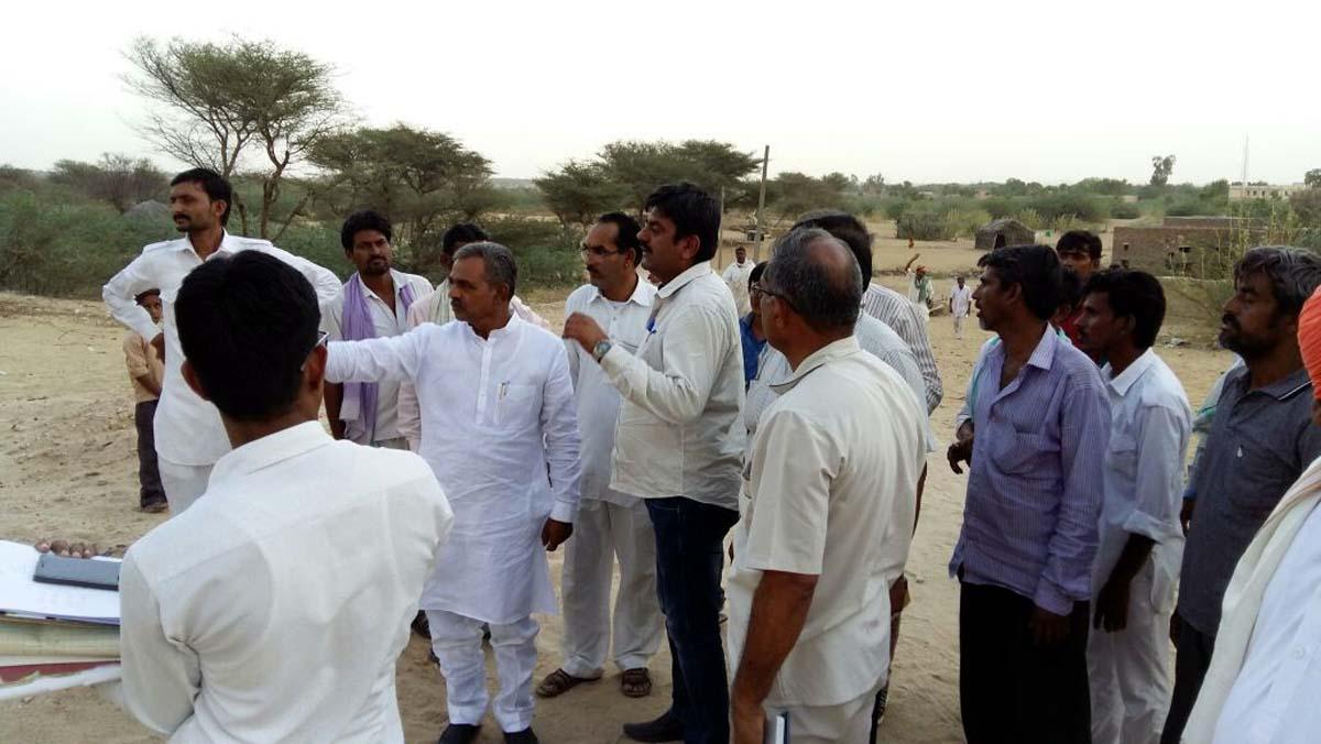 JAISALMER NEWS- राजस्थान में गरीबों को पट्टा मिलने के बाद भूखण्ड पर कब्जा देने में लग गए 11 साल