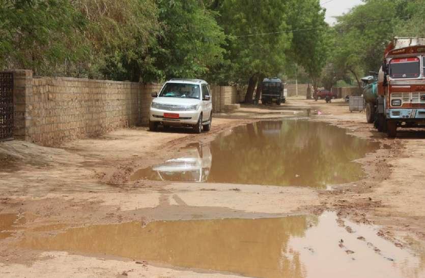 JAISALMER NEWS- रेगिस्तान में तूफान की आहट से धराशायी हो गई व्यवस्थाएं, फिर हुआ...