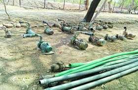 बुंदेलखंड के इस क्षेत्र में हो रही पानी की चोरी