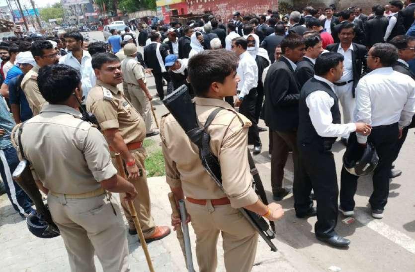 Image result for इलाहाबाद: अदालत जा रहे वकील गोली मारकर हत्या की