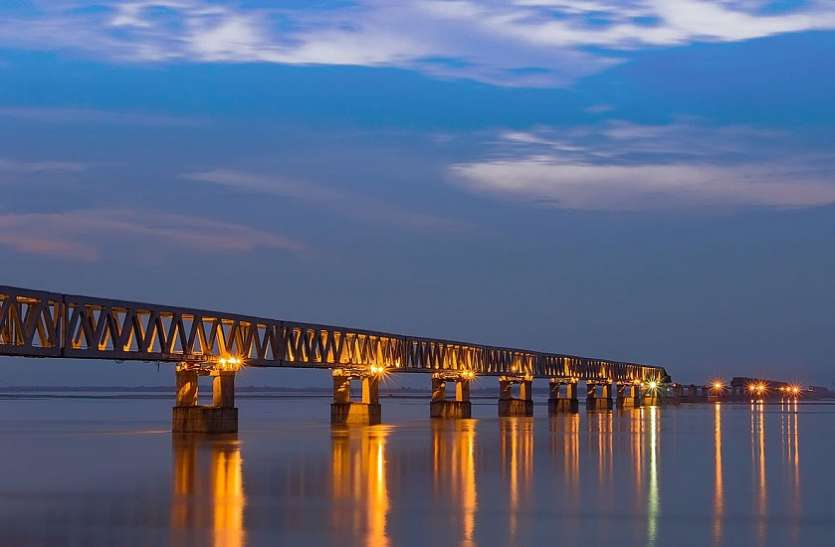 देश को मिलेगा सबसे लंबा सड़क-रेल पुल, पीएम मोदी करेंगे उद्धाटन