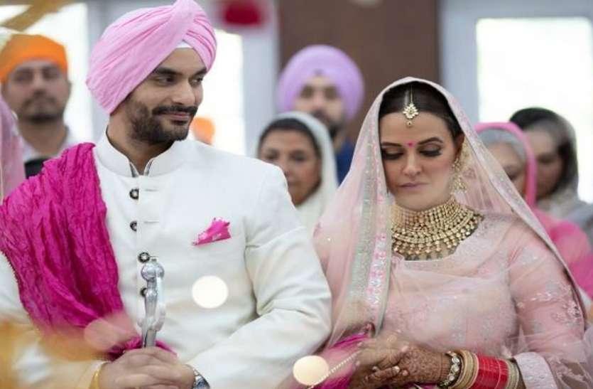 गुपचुप शादी के अलावा नेहा धूपिया छुपा रही है ये बड़ा राज !