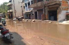 संसदीय क्षेत्र में पीएम के स्वच्छता अभियान को मुंह चिढाता मोहल्ला हबीबपुरा