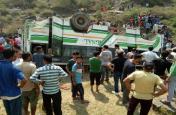 हिमाचल: सिरमौर में पहाड़ी से गिरी बस, 7 की मौत और 12 घायल