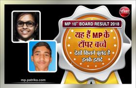 10th result 2018: यह हैं मध्यप्रदेश के टॉपर बच्चे, देखें कितने बुलंद हैं इनके इरादे