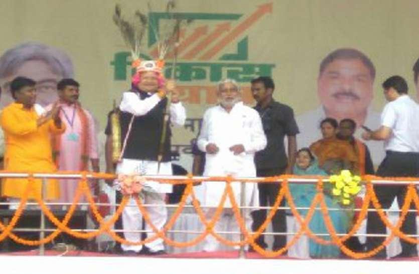 Vikas Yatra 2018: 223 करोड़ की सौगात लेकर विकास यात्रा पहुंची नारायणपुर
