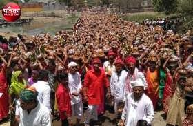 बांसवाड़ा : प्राण प्रतिष्ठा महोत्सव में उमड़े श्रद्धालु, 3000 कलशों के साथ निकली शोभायात्रा