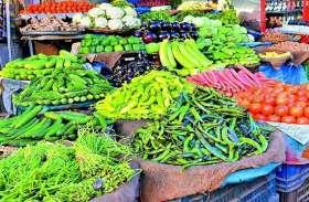 नई सब्जी मंडी पहुंचे व्यापारियों ने कहा दो जगह मंडी, नहीं आ रहे ग्राहक