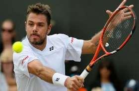 Tennis : चोट के बाद वापस लौटे वावरिंका इटली ओपन से बाहर