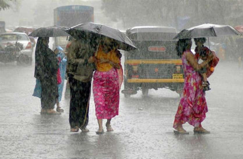 मप्र में बारिश के आसार, तेज हवाओं की चेतावनी