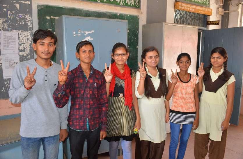 प्रदेश मेें दूसरे स्थान पर रहा दमोह जिले की मैरिट सूची में छात्राओं का दबदबा