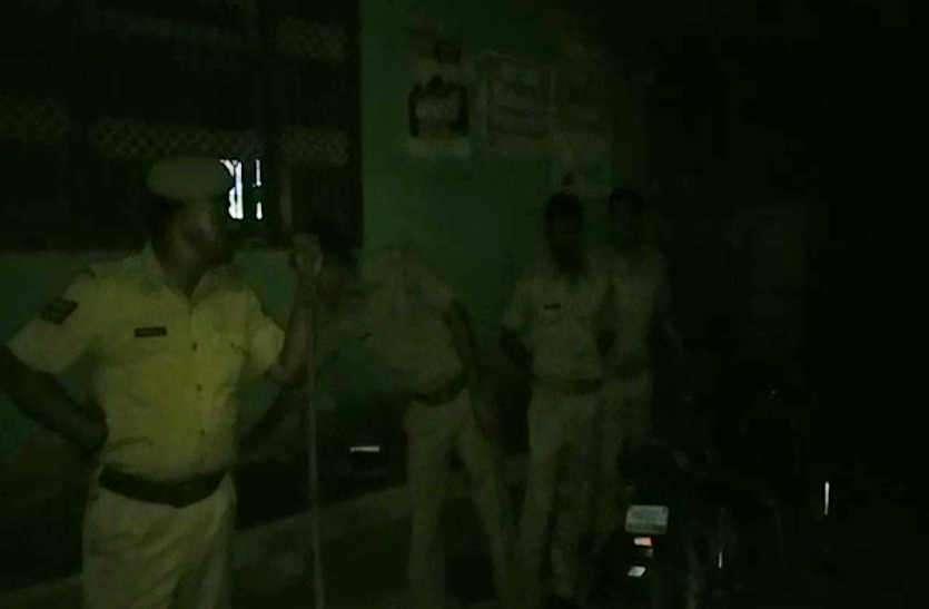दो पक्षों में झगड़े के बाद पथराव, माण्डल में गरमाया माहौल, पुलिस बल तैनात