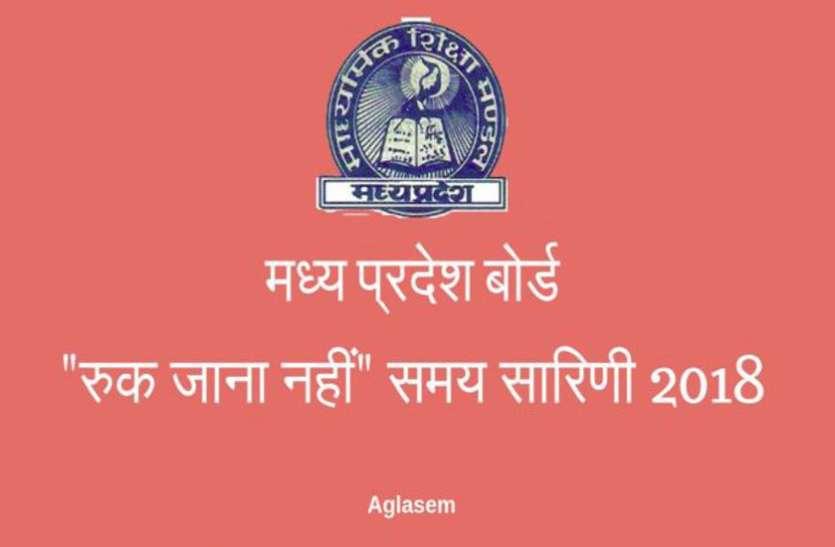 Ruk Jana Nahi Time Table June 2018 Bhopal News In Hindi Ruk Jana