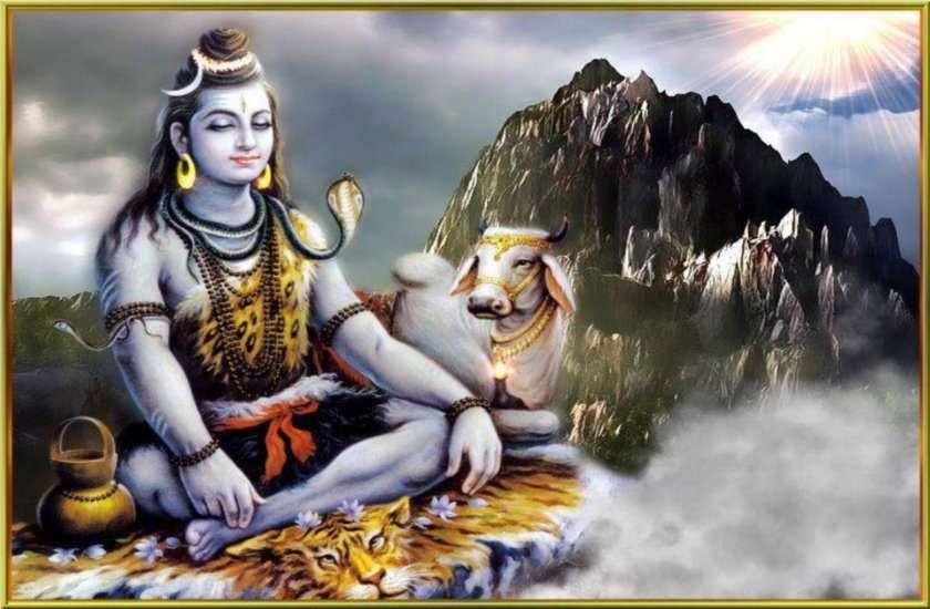 meditation - Shiva devotee