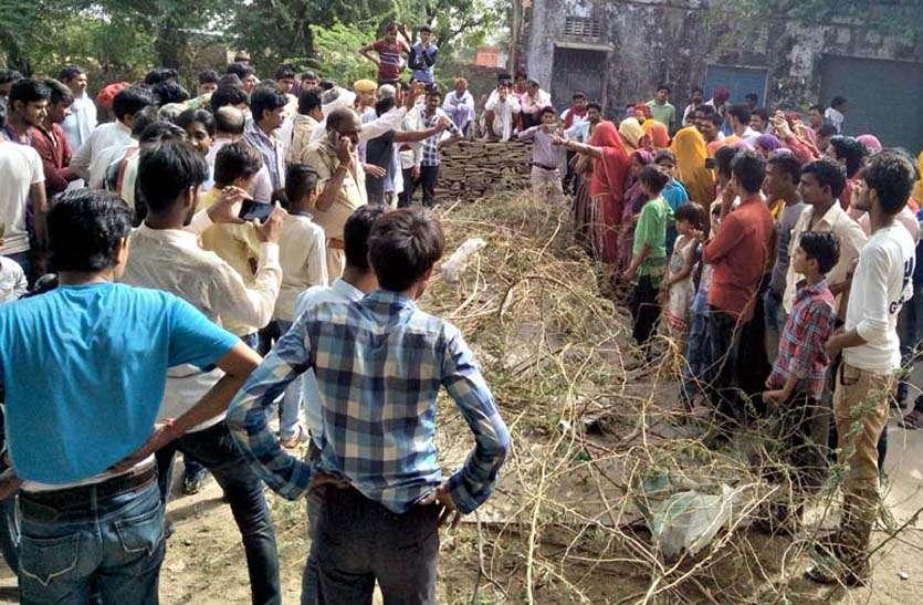 पेयजल व बिजली संकट से त्रस्त लोगों का टूट रहा सब्र का बांध,  आपूर्ति की मांग को लेकर ग्रामीणों ने जाम लगा किया प्रदर्शन