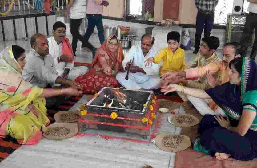 सांईधाम मंदिर में धूमधाम से मनाया पाटोत्सव
